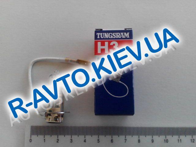Лампа TUNGSRAM H3 (с пров.) 12v 55w(противотуманка)