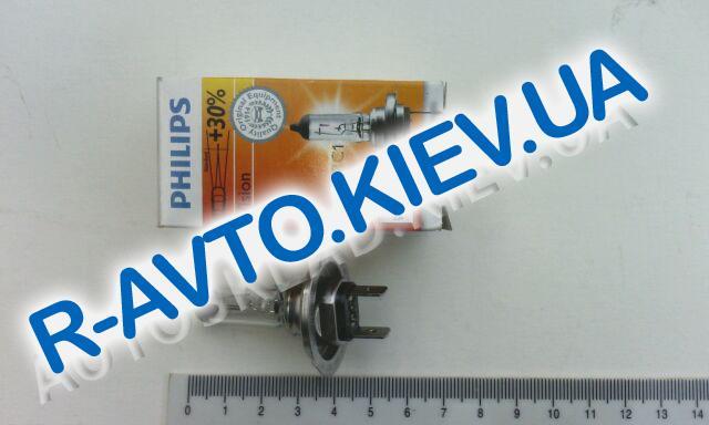 Лампа PHILIPS H7 12v 55w Premium +30% (1 шт.) (12972)