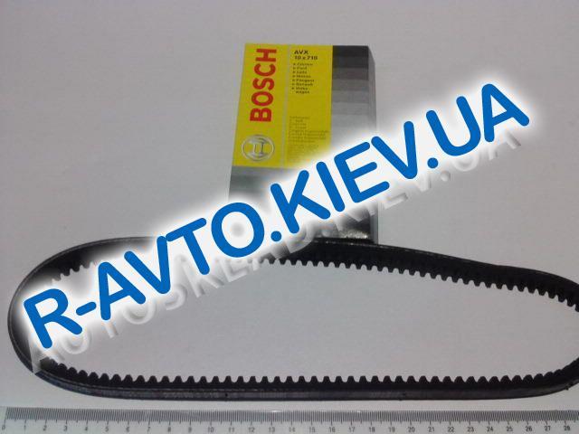 Ремень генератора BOSCH 710, ВАЗ 2108 зубчатый (1987947683)