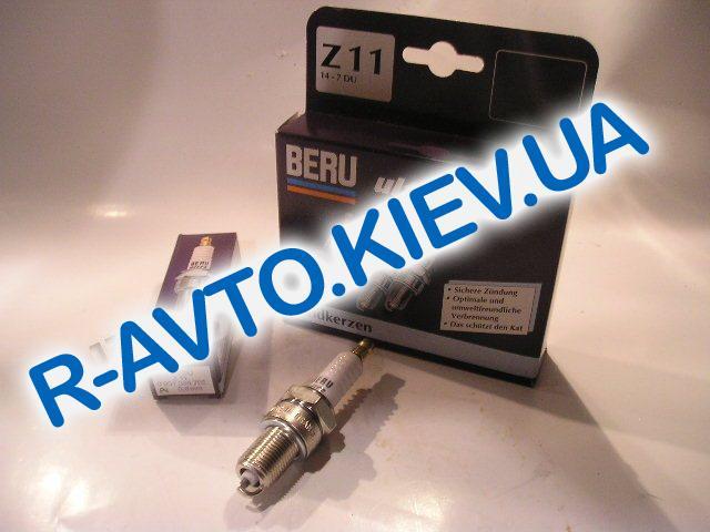 """Свечи BERU """"Z11"""" ВАЗ 2101 (1шт.)"""