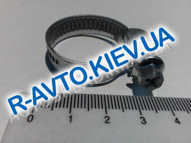 Хомут, НОРМА  16-27 мм (100шт. в уп.) (печка)