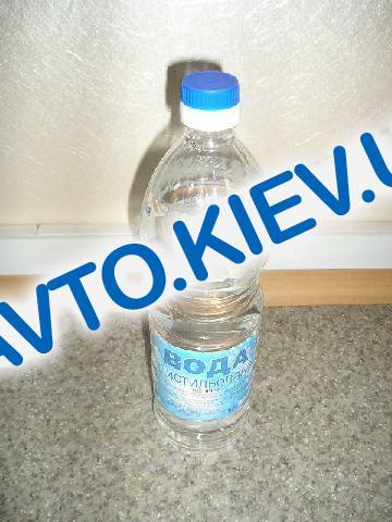 Вода дисцилированная, 1л. (12 шт в уп-ке)