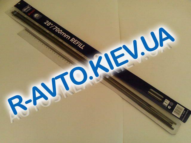 Лента стеклоочистителя ALCA графитовая 610 мм (пара)