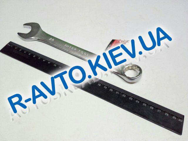 Ключ рожково-накидной 21 мм Inter Tool (HT-1221)