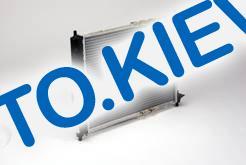 Радиатор охлаждения Lanos (без конд.) Лузар, (алюминиево-паяный) (96.351.263.00.00)