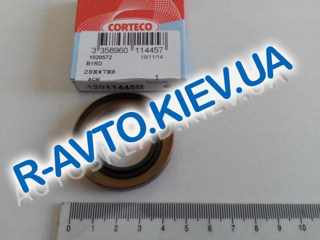 Сальник КПП ВАЗ 2101 передн. (перв. вала) Corteco (12011445B)