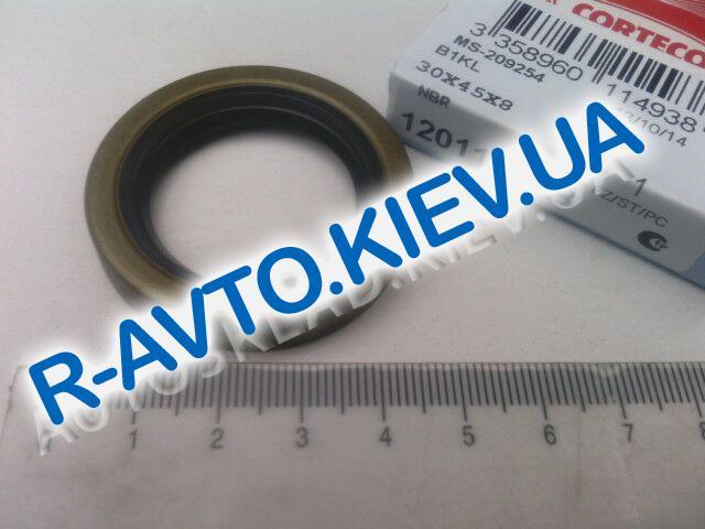 Сальник полуоси ВАЗ 2101| передний коленвала Tavria, Sens Corteco (12011493B)