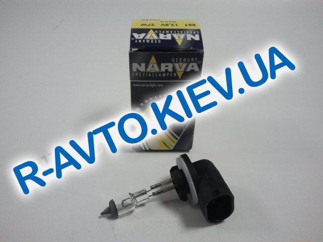 """Лампа NARVA 881 12V 27W (""""Chevrolet"""") (48040)"""