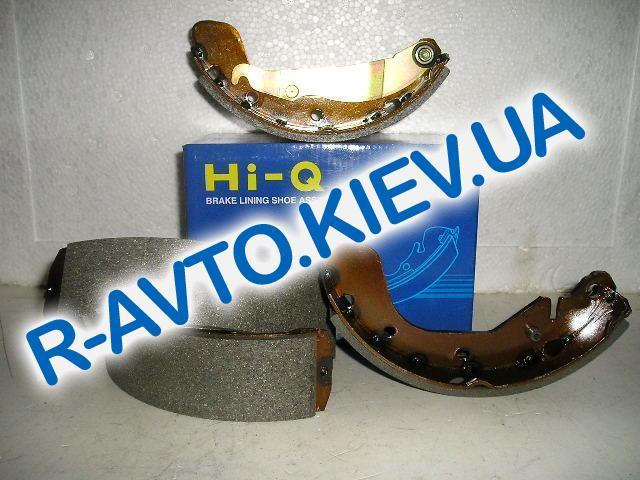 Колодки задние тормозные Lanos HI-Q (Корея) SA055, к-т (в уп-ке)