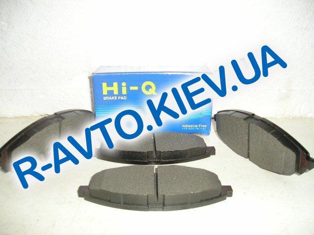 Колодки передние тормозные HI-Q (Корея) Lanos 1.5 (SP1086), к-т (в уп-ке)