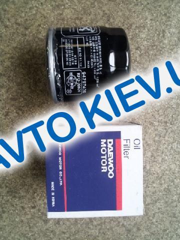 Фильтр масляный DAEWOO MOTOR Корея Lanos