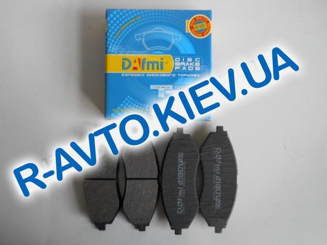 Колодки передние тормозные Dafmi Aveo SM (Д 190 CM), в уп-ке