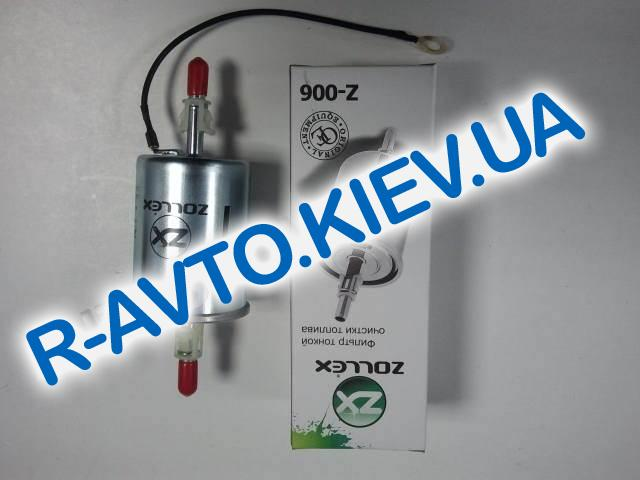 """Фильтр топливный инжектор """"Zollex"""" ВАЗ 2110, Lanos (Z-006), (трубка)"""