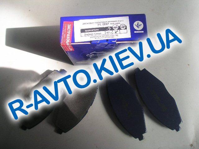 Колодки передние тормозные Frico Lanos 1.5 (FC1337), в уп-ке
