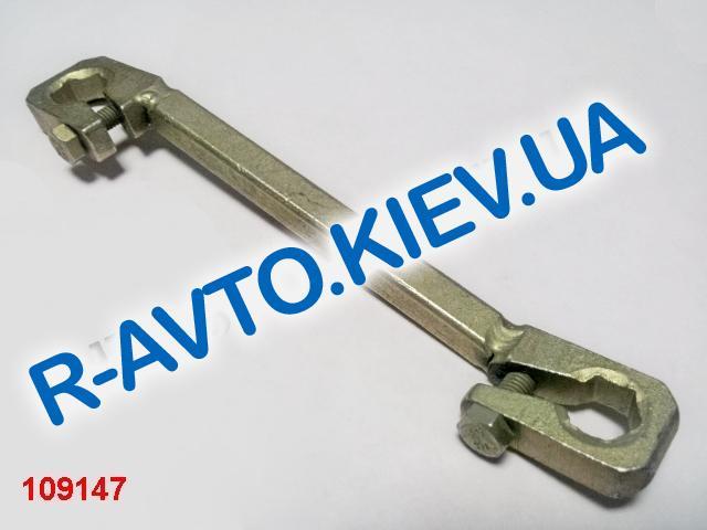 Ключ прокачки тормоза зажимной 10х13