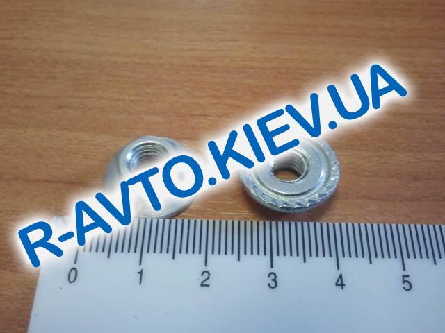 Гайка М 6 с зубч. буртиком, (20 шт. в уп-ке) Белебей
