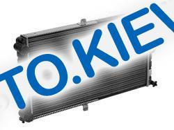 Радиатор охлаждения ВАЗ 2112 инж. алюм., Лузар (LRc 0112) (без датч.)