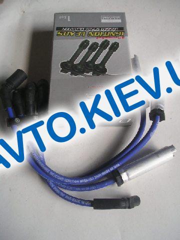 Провода высоковольтные Protec Lanos 1.5 силикон PTW 1197 (9,5 мм) 8V SONC (с метал. након.)