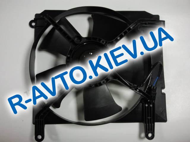Диффузор радиатора Lanos с мотором (с конд.) Корея (96183756)
