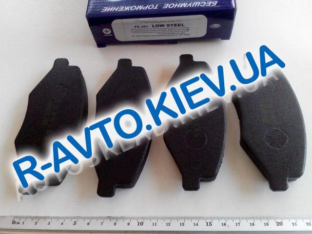 Колодки передние тормозные Frico Chery Amulet  FC201 в упке