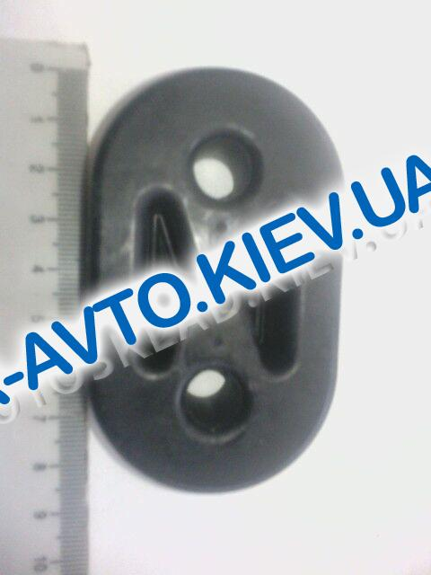 Крепеж глушителя Lanos, Корея №2 (96181437) толстый прямой