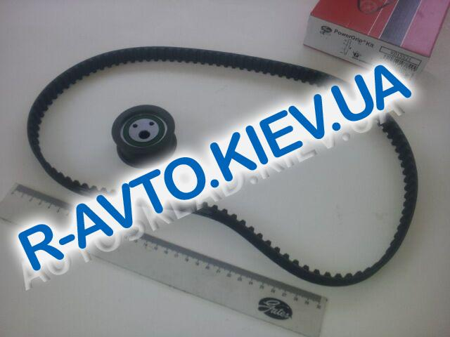 Ремень ГРМ ВАЗ 2108 Gates K015521 (Испания) трапец.+РОЛИК (в упак.) к-т