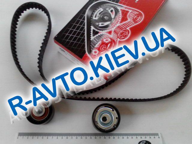 Ремень ГРМ ВАЗ 2170 Gates K015631XS (Испания)+РОЛИКИ(в упак.) к-т