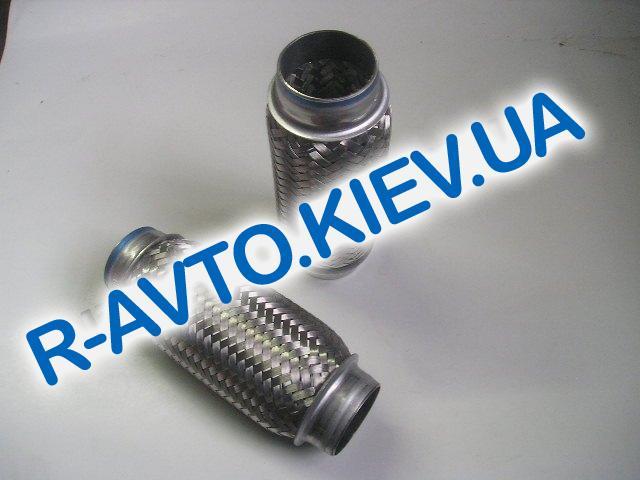 Гофра приемной трубы 50х200 мм., Корея Lanos Nexia Aveo Lacetti Nubira Espero Tacuma Leganza