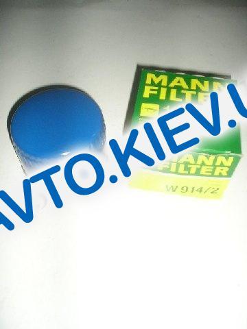 Фильтр масляный MANN (оригинал), ВАЗ 2108  W914|2 (10шт в упак.)