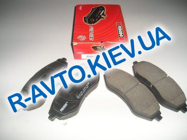 Колодки передние тормозные FERODO Premier Aveo FDB1699