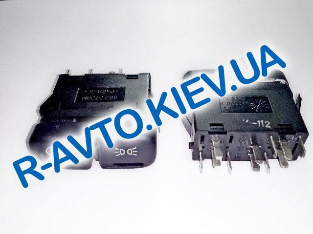 Включатель-кнопка света (ближний, габариты) ВАЗ 2114-15, 2123, Псков (882.3709М)