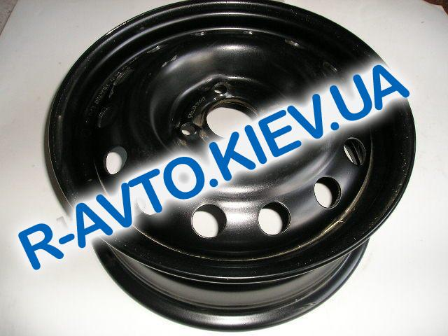 Диск колесный Lanos, Кременчуг (14H2x5,5J) черный