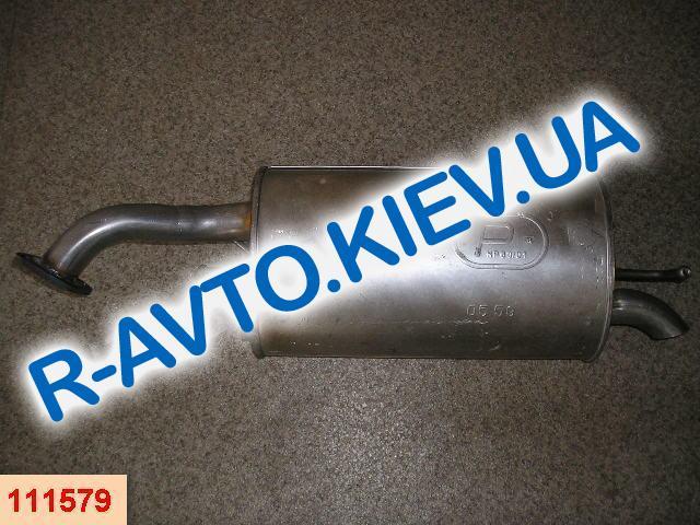 Глушитель Aveo (05.59) хетчбэк POLMO (Польша)