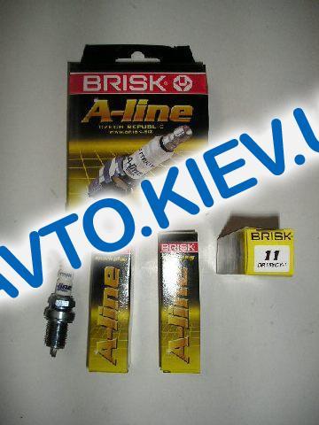 Свечи BRISK A-Line №11 DR15YCY-1 (ВАЗ 2112), Чехия