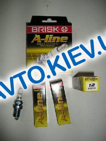 Свечи BRISK A-Line №12 DR15YCY (ВАЗ 2112 ключ х16), Чехия