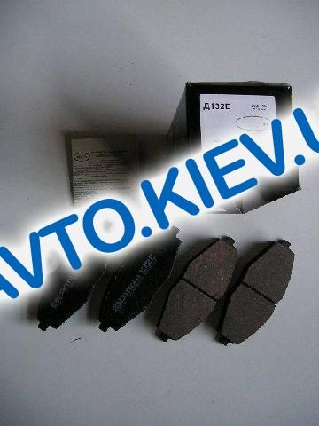 Колодки передние тормозные Dafmi  Intelli Lanos 1.5 (Д132E), в уп-ке