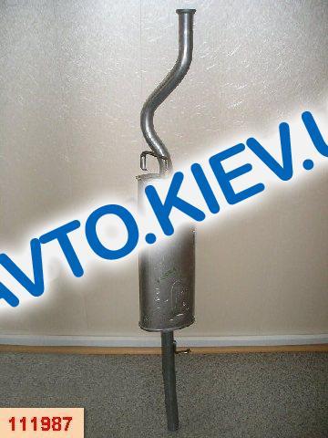 POLMO (Польша) Глушитель ВАЗ 2170 (2110 c 2007 г.) (11.38)