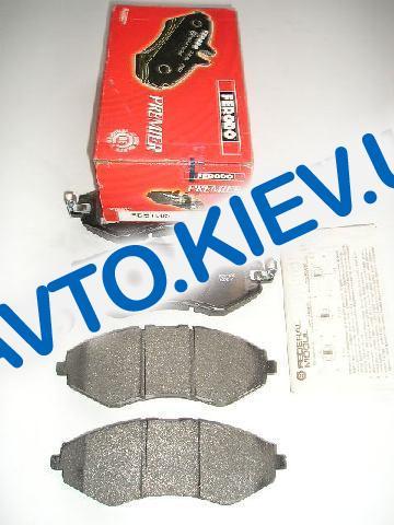 Колодки передние тормозные FERODO (Premier) Lacetti FDB1905