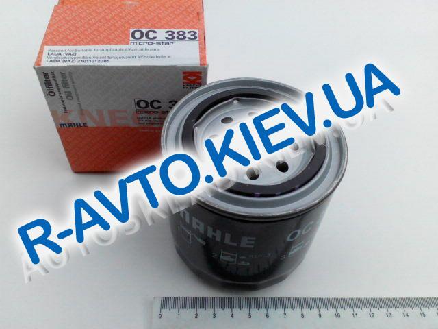 Фильтр масляный KNECHT, ВАЗ 2101 (OC 383) (10шт в упак.)