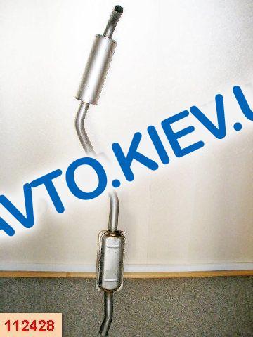 POLMO (Польша) Резонатор ВАЗ 2103 (11.02)