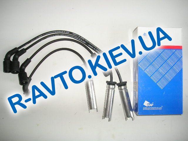 """Провода высоковольтные Lanos 1.5, """"KAP"""" Корея силикон (с метал. након.)"""