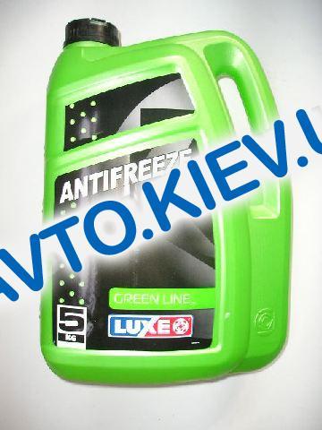 Антифриз LUXOIL GREEN LINE (-40) (зеленый)  5 кг.