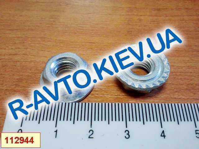 Гайка М 8 с зубчатым буртиком (многоцелевая), Белебей