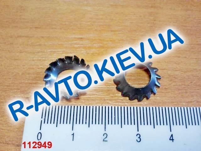 Шайба Ф 8 зубчатая конус черная КПП ВАЗ, Белебей