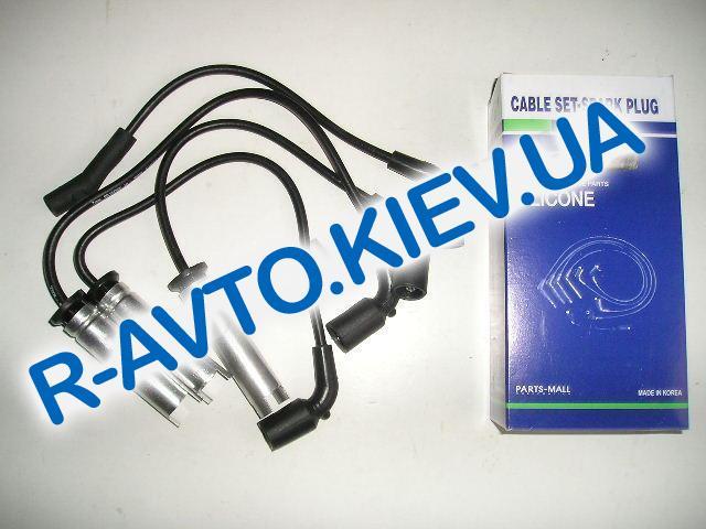 Провода высоковольтные PMC (Корея) Lanos 1.5 силикон (с метал. након.) (PEC-E04)
