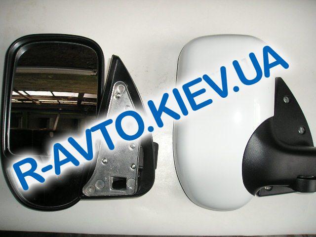 Зеркало ГАЗ 3302 нов обр без указ поворота белое пара