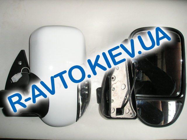 Зеркало ГАЗ 3302 нов обр с указ поворота белое пара