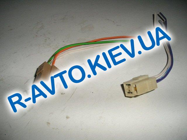 Фишка (разъем проводки) с проводом 3-х местн. резистора печки, ВАЗ 2108, Таврия