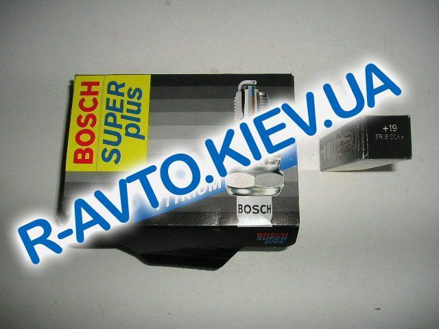 Свечи BOSCH PLUS  FR8DCX +19  (Lanos 1.6) (0242229660) 1 шт.