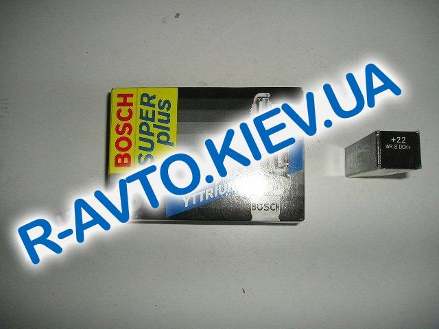 Свечи BOSCH PLUS  WR8DCX +22  (Aveo) (0242229687)